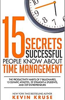 kruse, book, time management, success, business, reading, learning, brotherton, use your calendar
