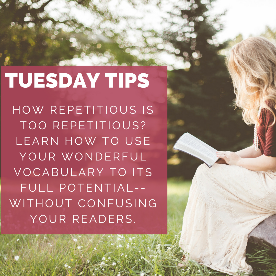 tips, words, author, writing, thesaurus, blog, repeat