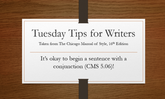 Tuesday, tips, Chicago, Manual, style, brotherton, writer, author, improvement, conjunction
