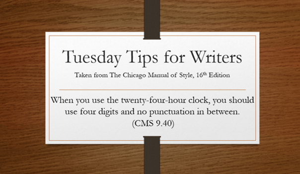 Tuesday, tips, Chicago, Manual, style, brotherton, writer, author, improvement